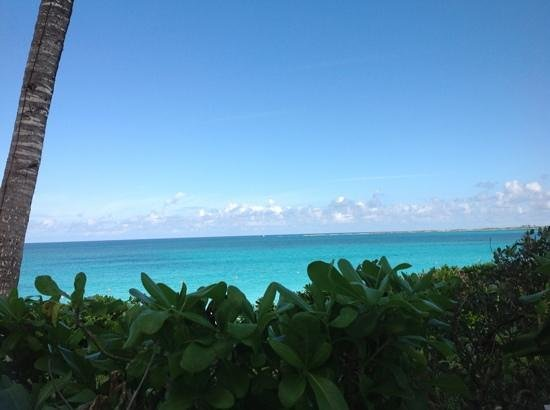 Paradise Island Beach Club: view from our patio, Villa #1