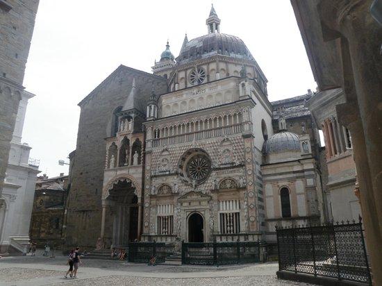La Città Alta: Cattedrale (Duomo) di Bergamo e Battistero