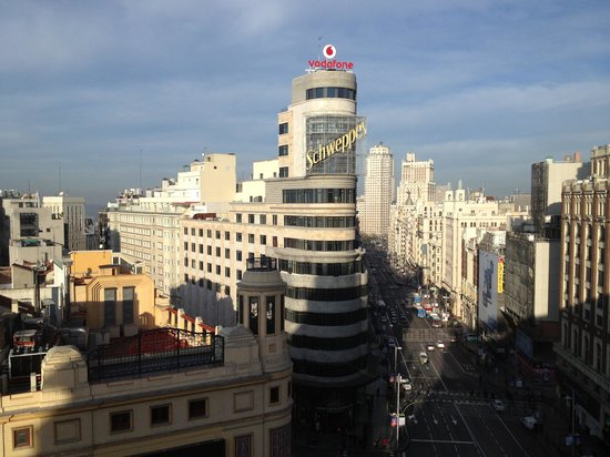 Plaza callao picture of hotel preciados madrid for Hotel preciados madrid