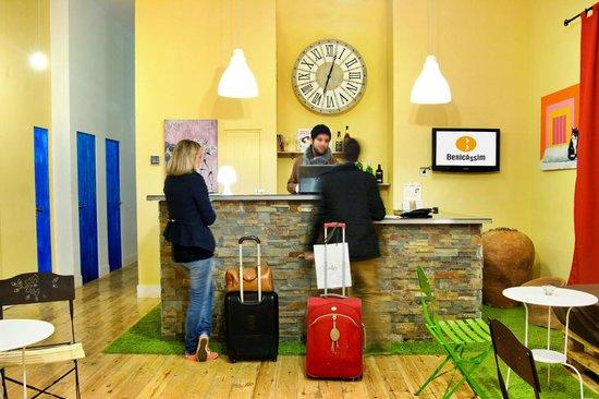 Hotel Boutique Benicassim: Recepción de clientes