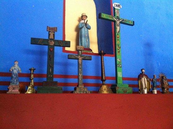Hacienda San Jose, a Luxury Collection Hotel: Altar in the hacienda chapel.