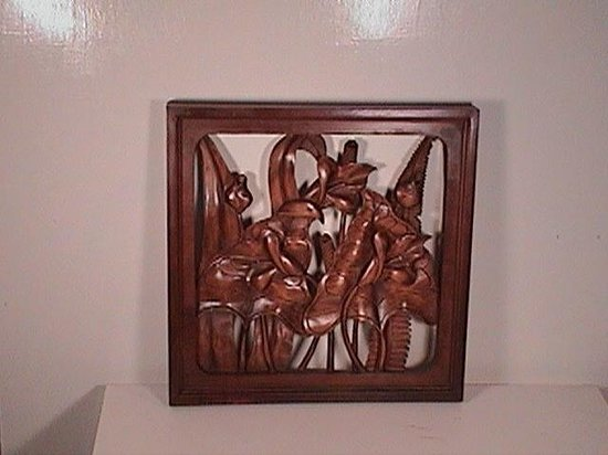 Old San Juan Wall Decor : Wall decor flower design d picture of haitian gallery