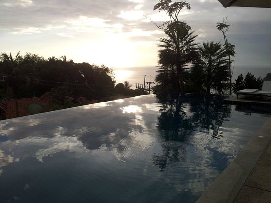 Secret Cliff Resort: tramonto