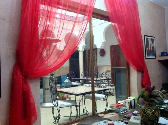 MonRiad: il Riad dalla sala pranzo