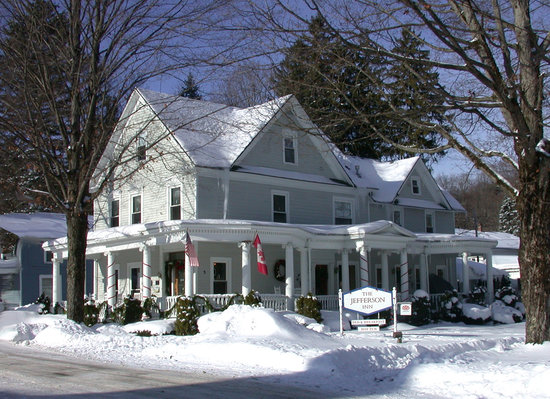 Jefferson Inn of Ellicottville: Winter at The Jefferson Inn!