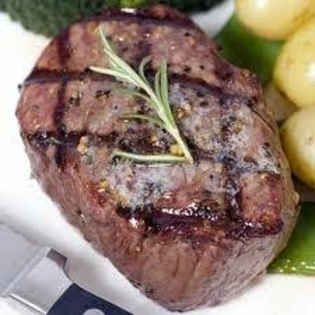 Viking Lobster Company: 8oz. Filet Mignon cooked to your liking