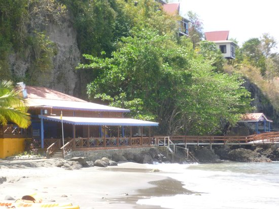 Ti Kaye Resort & Spa: Beach restaurant