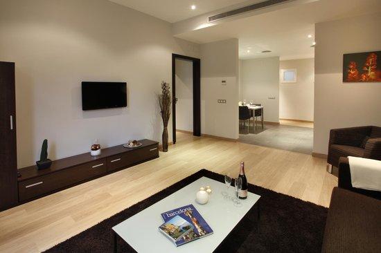 FisaRentals Gran Via Apartments: salón