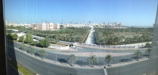 Gulf Hotel Bahrain Convention and Spa: View from room