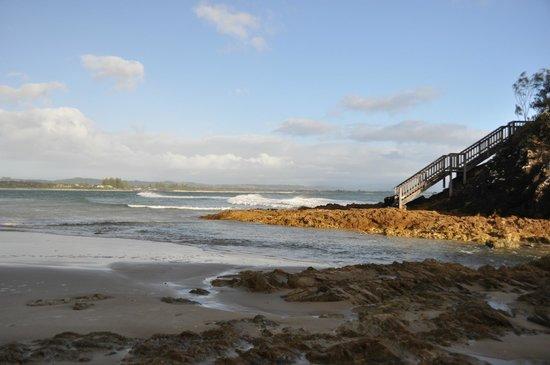 Byron Beachcomber Resort: fishermans lookout