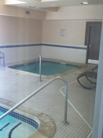 SpringHill Suites Providence West Warwick : jacuzzi
