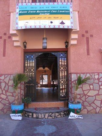Maison D'hotes Restaurant Chez L'Habitant Amazigh