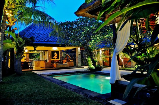 The Zala Villa Bali: best relaxing  pool|||