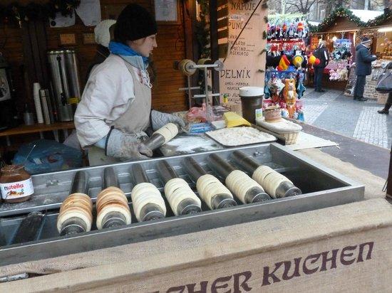 Archibald City: Doughnut type delicasy sold in Xmas Market