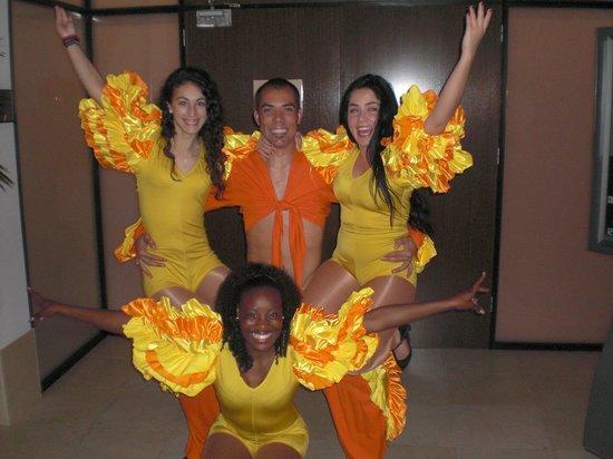 ClubHotel Riu Guarana: Grupo de Animacion, estos si que trabajan y siempre con una sonrisa