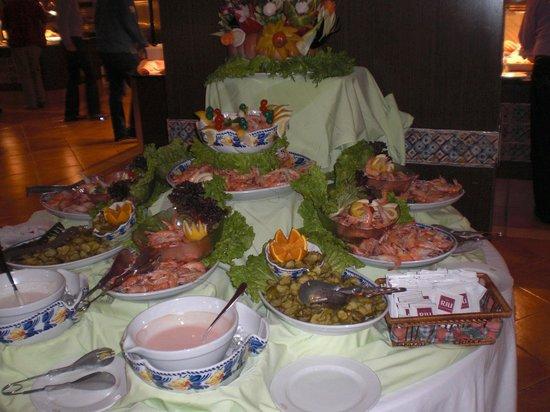 ClubHotel Riu Guarana : Comida magnifica, Buena y con variedad.