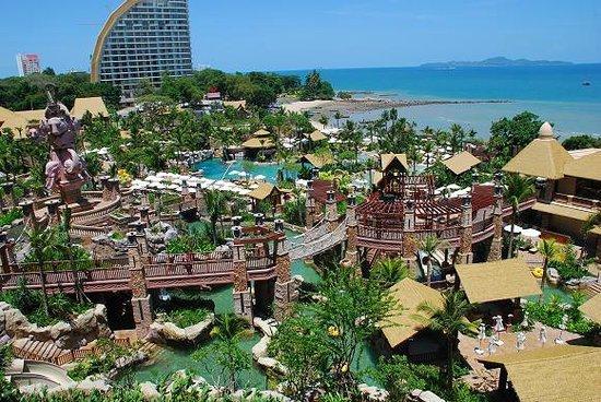 Centara Grand Mirage Beach Resort Pattaya View From My Room
