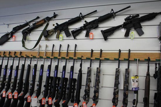 Kiffney's Firearms and Indoor Range: A lot of firearms