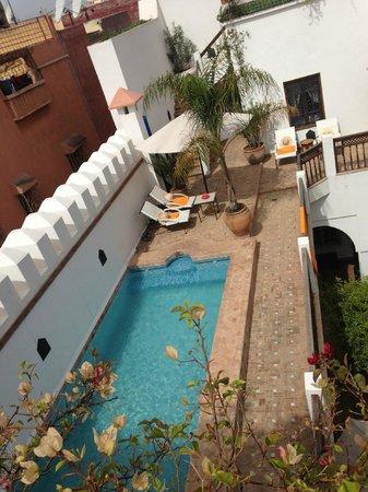 Riad Clémentine: Etage piscine