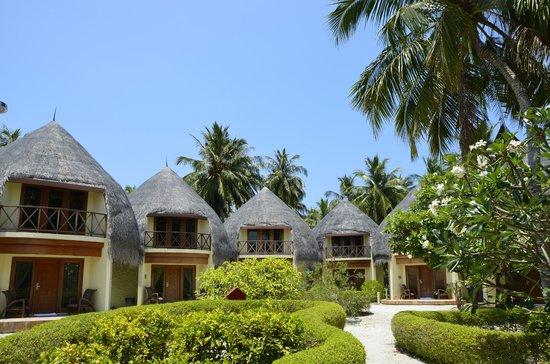 Bandos Maldives: les jacuzzi bungalow