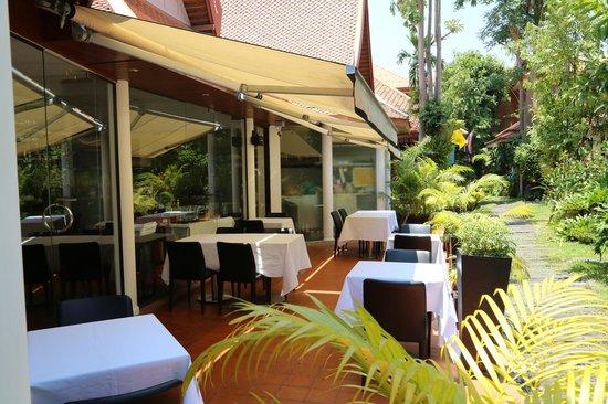 Le Bistro Hua hin: Terrace