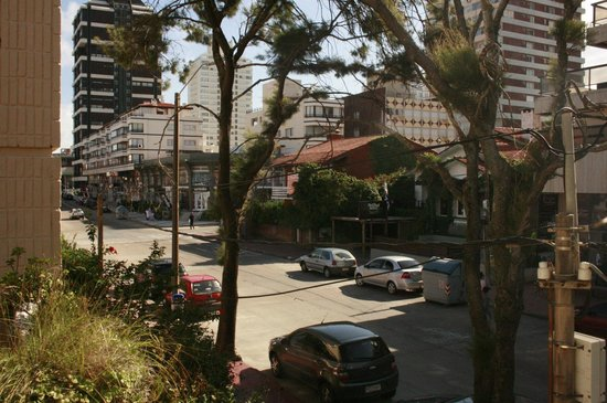 Hotel Milano: Vista del balcón