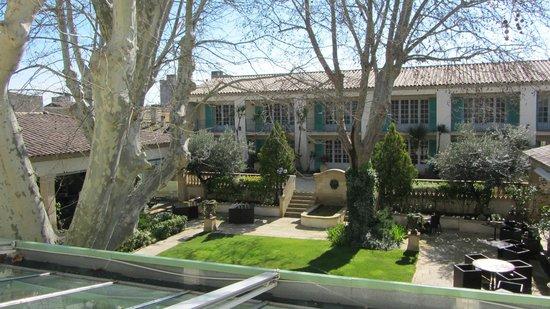 Villa Mazarin : Vue de la chambre