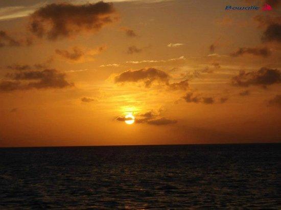 Bowalie : Zonsondergang Bonaire