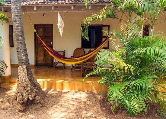 Peace Land : Patios and hammocks..nice