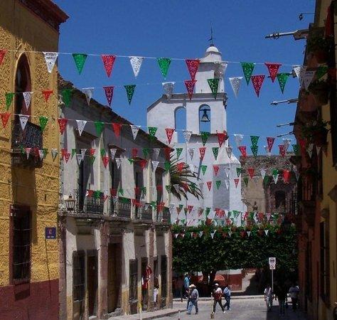 Cristi Fer Art Gallery and Workshops: Celebration 2013, San Miguel de Allende, by Cristi Fer Art Studio