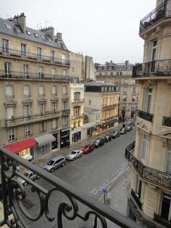 Hôtel Château Frontenac : Vista da sacada