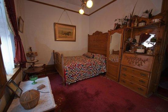 Copper King Mansion: Butler's Room $105