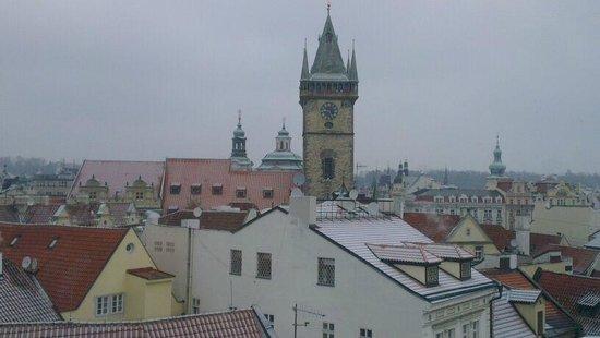 Arcadia Residence: Vista sui tetti dalla camera