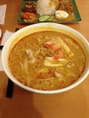 Kampong Ah Lee Malaysian Delight: laksa which tasted more like curry noodles