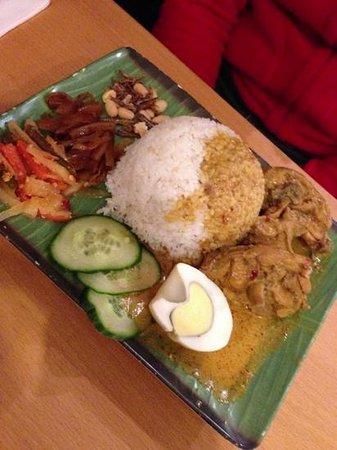 Kampong Ah Lee Malaysian Delight: nasi lemak
