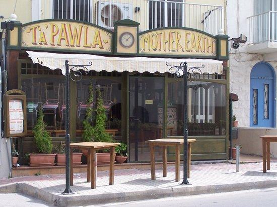 Ta Pawla: devanture restaurant