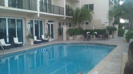 Sea Lord Hotel & Suites : View NorthWest of Pool