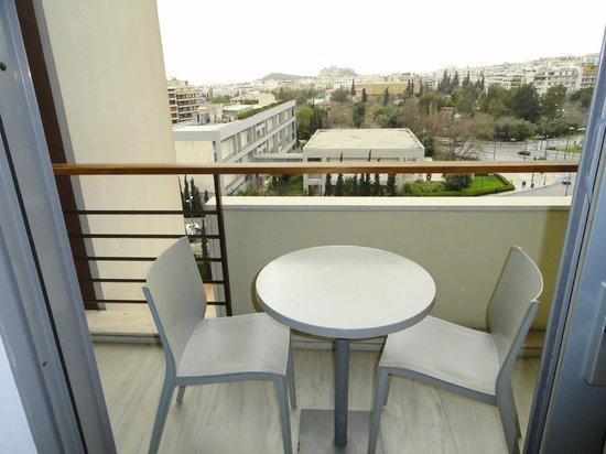 Hilton Athens: Balcony