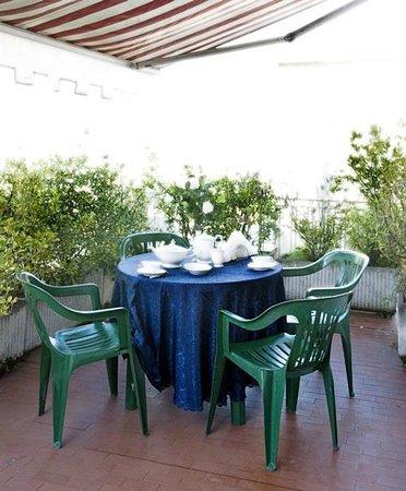 Residence Buonamici : terrazza