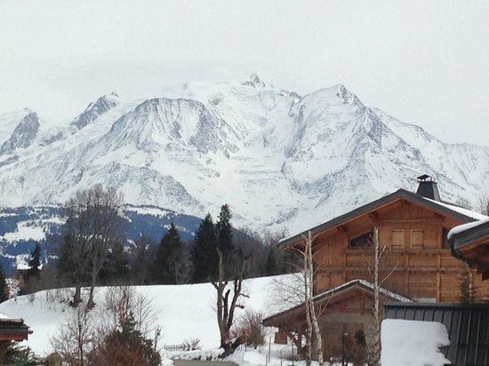 Le Cerf Amoureux : View from room