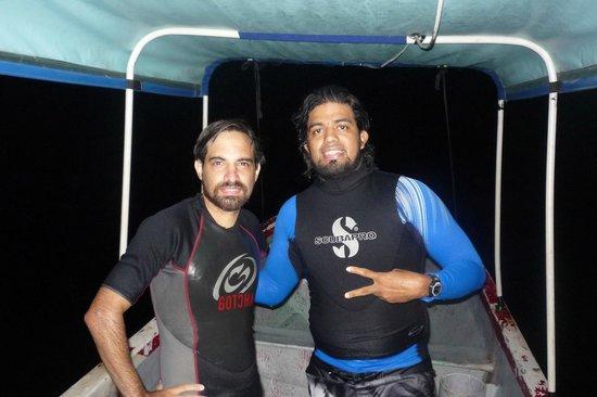 Bocas Water Sports: buceo nocturo en bocas del toro