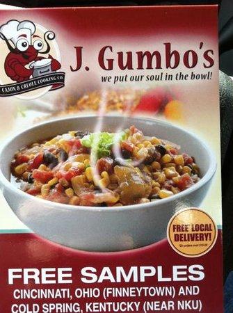 J Gumbo S 415 Of 1 527 Restaurants In Cincinnati