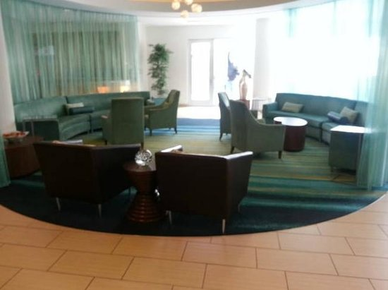 SpringHill Suites Pittsburgh Bakery Square: Hotel Lobby