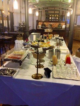 Hotel Villa Beccaris: il buffet della prima colazione