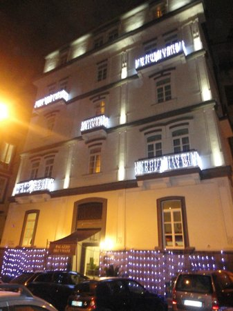 Hotel Palazzo Decumani: facciata hotel dicembre