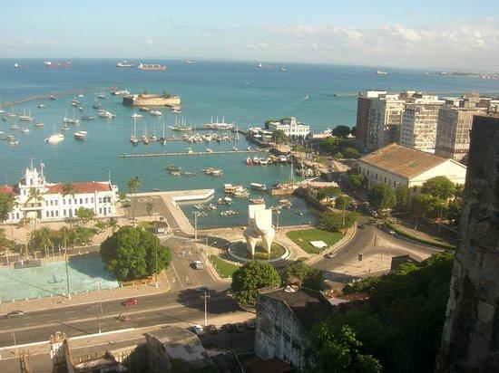 Colonial Chile : Vista desde la terraza (contrafrente) Amanecer