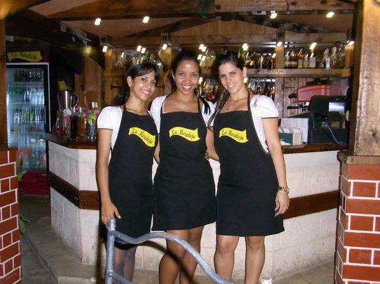 Restaurant - Paladar - La Moraleja: Tres lindas Cubanas.