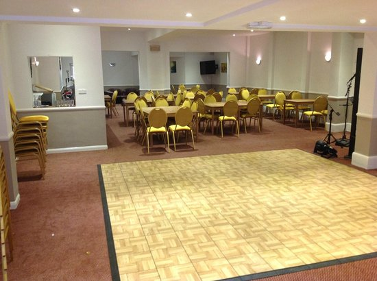 Shanklin Beach Hotel: our new function room.