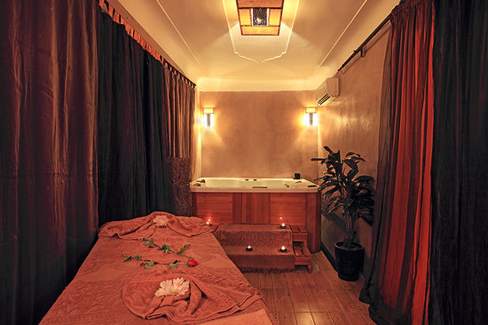 Riad Isis : salle jacuzzi