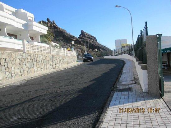 Portosol: view outside apartments